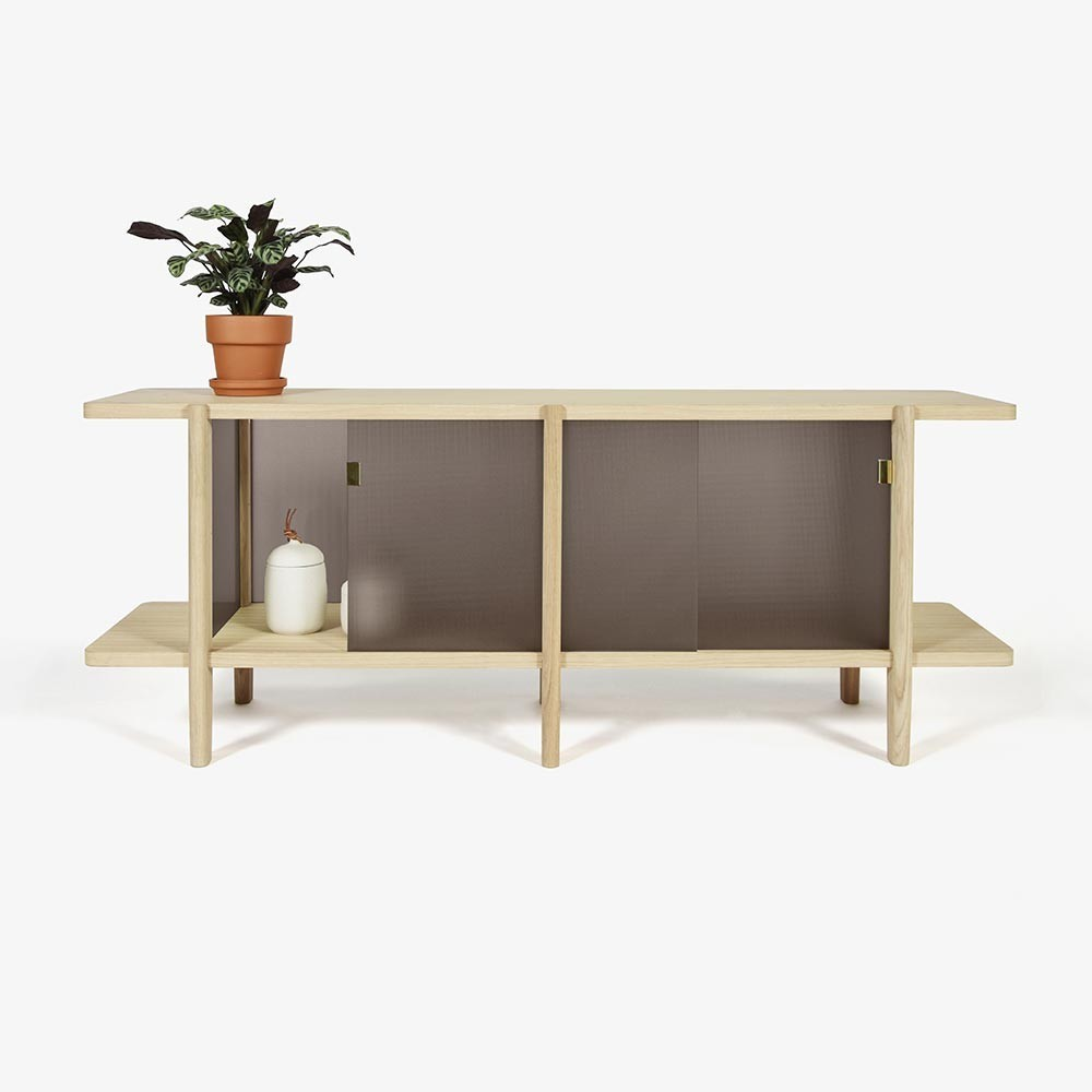 Pavillon cabinet mocha ENOstudio