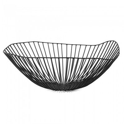Cesira fruit basket black Serax