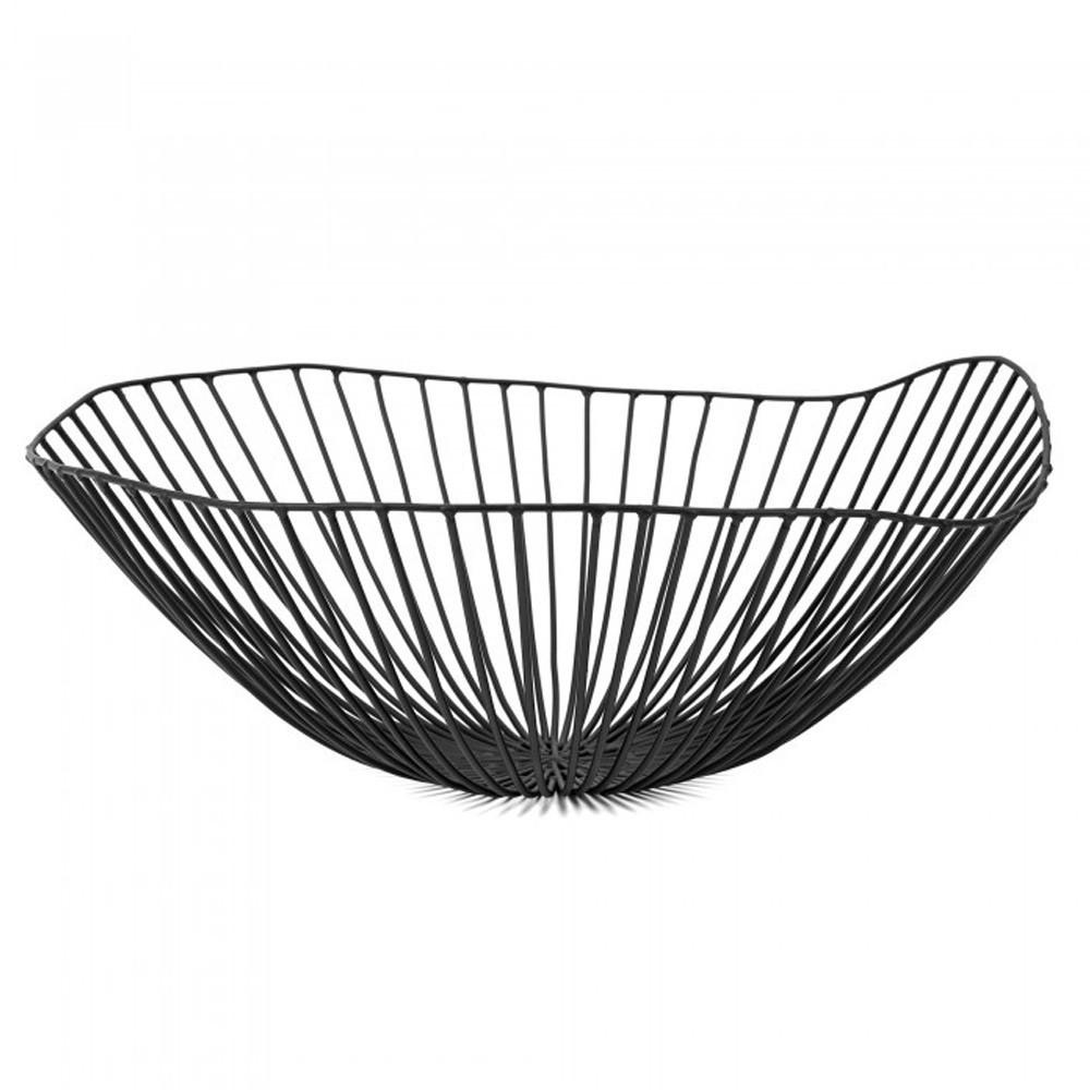 Cesira fruit basket black Serax