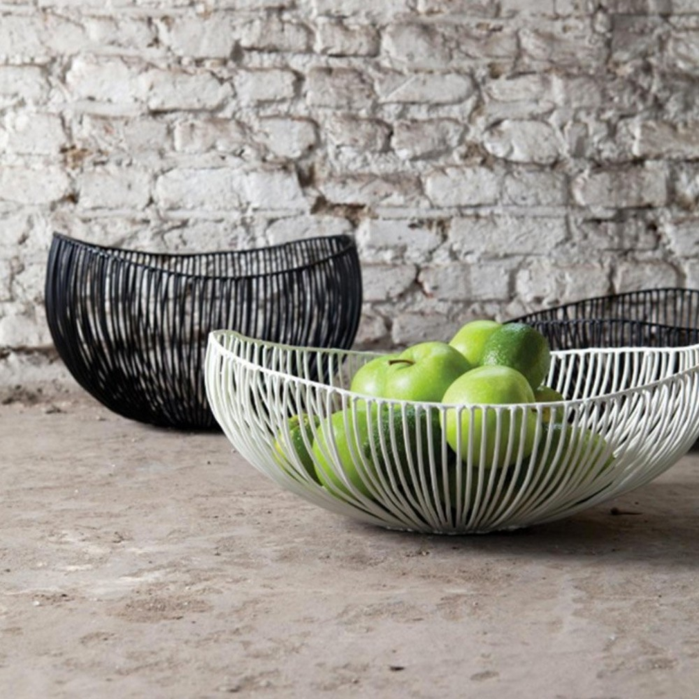 Cesira fruit basket white Serax