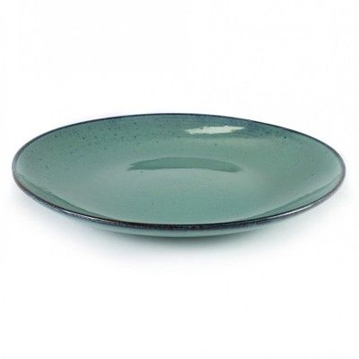 Big plate Aqua turquoise Ø28,5 cm (set of 4) Serax