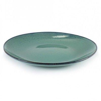 Groot Aqua bord turkoois Ø28,5 cm (set van 4) Serax