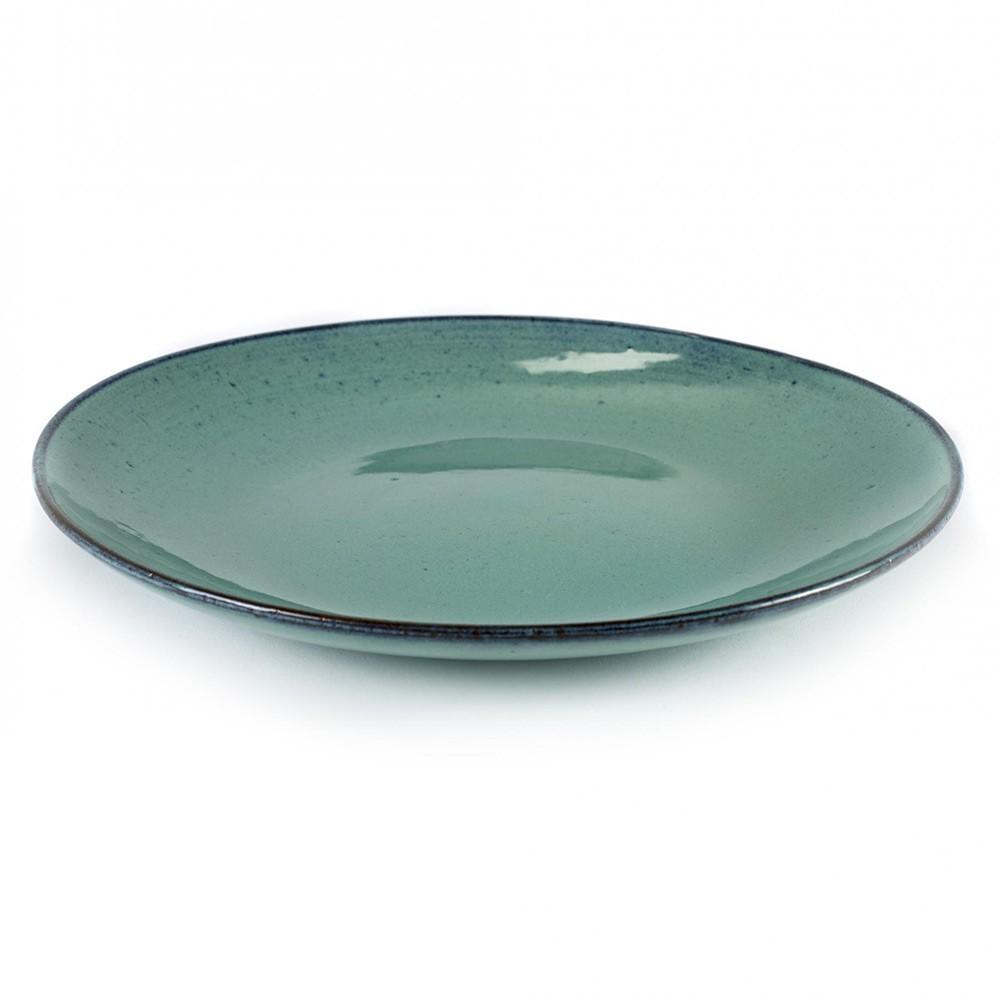 Big plate Aqua turquoise Ø28,5 cm (set of 4) Serax