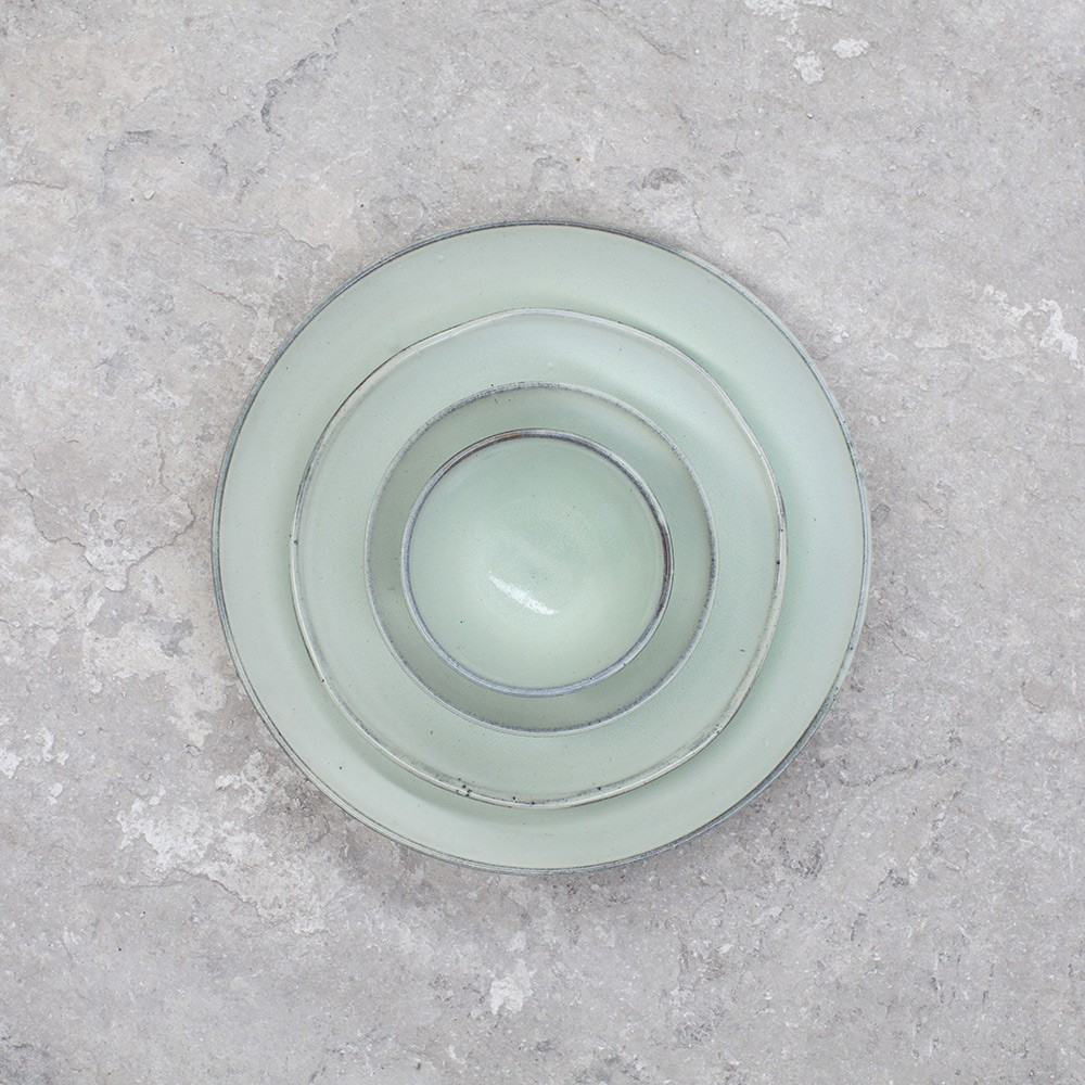 Grote Helder Aqua Bord Ø28,5 cm (set van 4) Serax