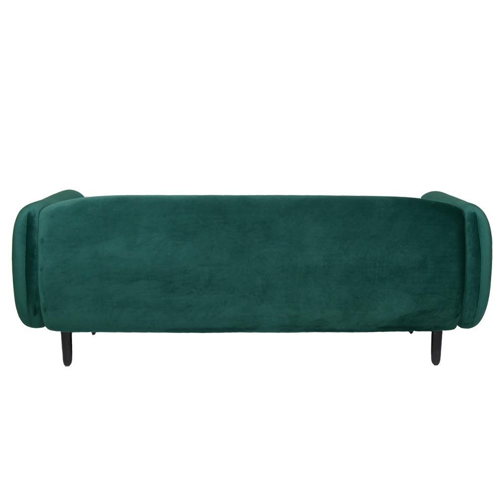 Moïra 3 seaters sofa night teal green ENOstudio