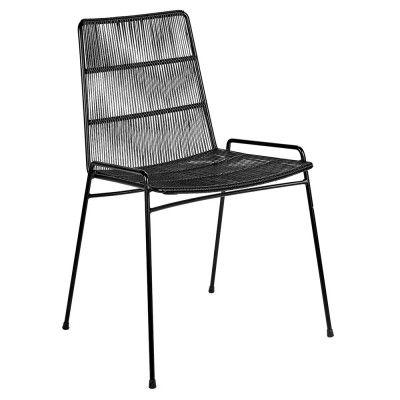Chaise Abaco noir & structure noire (lot de 2) Serax