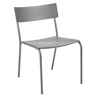 August dining chair grey Serax