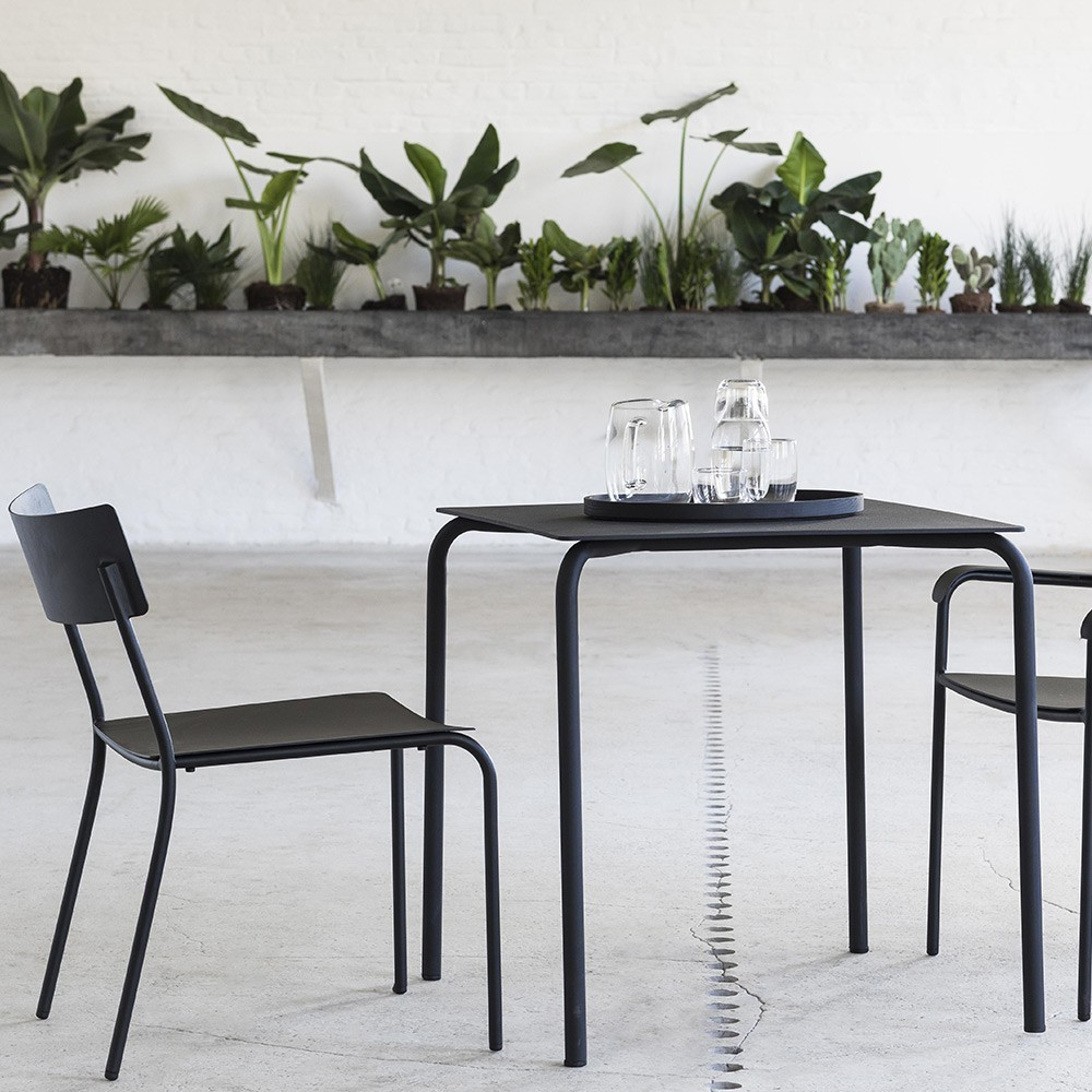 August dining chair grey Serax