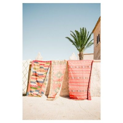 Marokkaanse tapijten poster