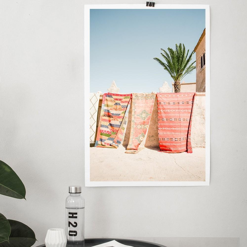 Moroccan Rugs poster David & David Studio