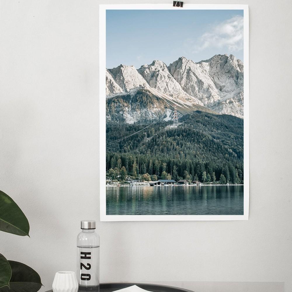 Zugspitze poster David & David Studio