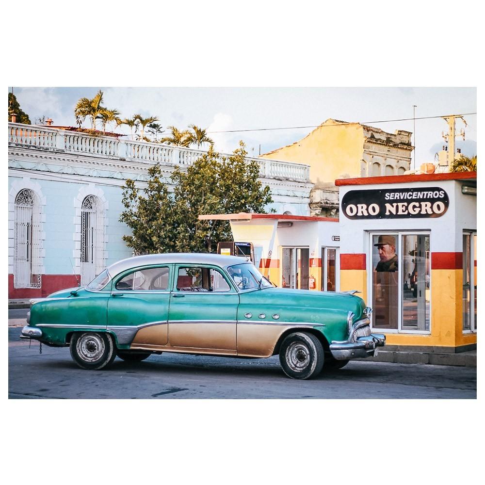 Cars of Cuba N.1 poster David & David Studio