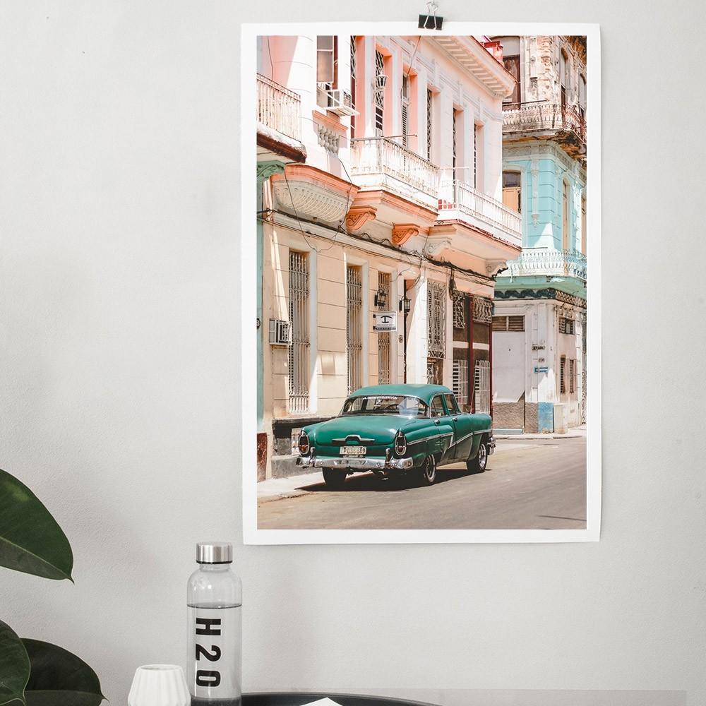 Cars of Cuba N.3 poster David & David Studio