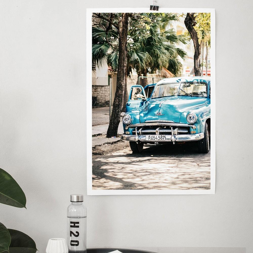 Cars of Cuba N.4 poster David & David Studio