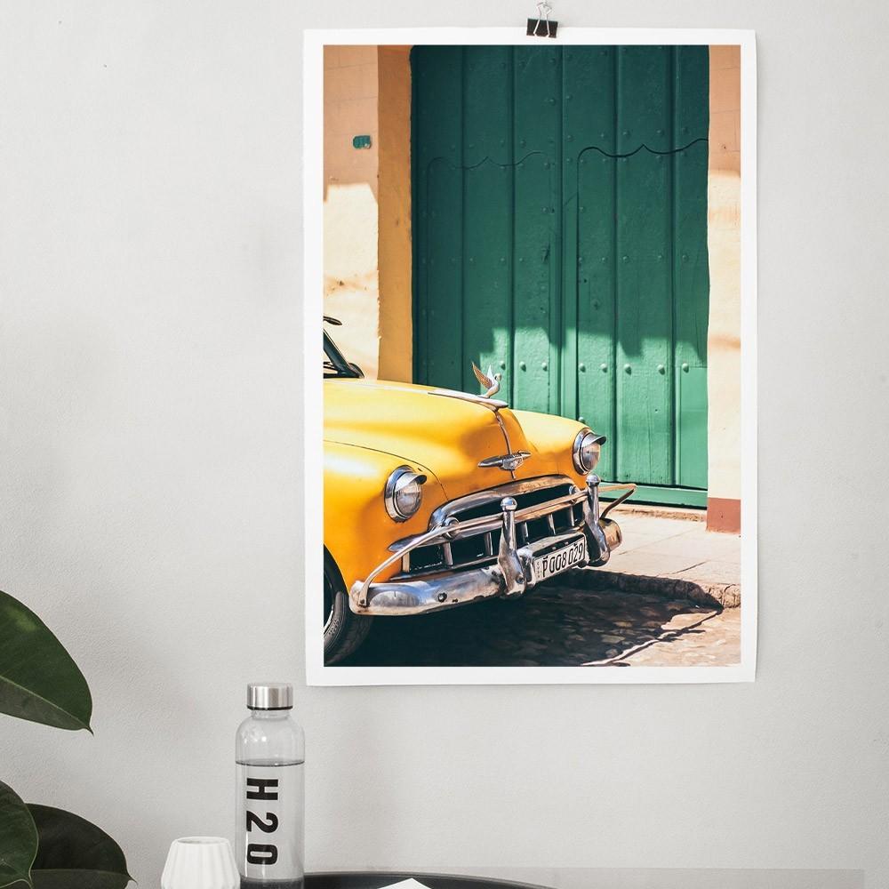 Cars of Cuba N.5 poster David & David Studio