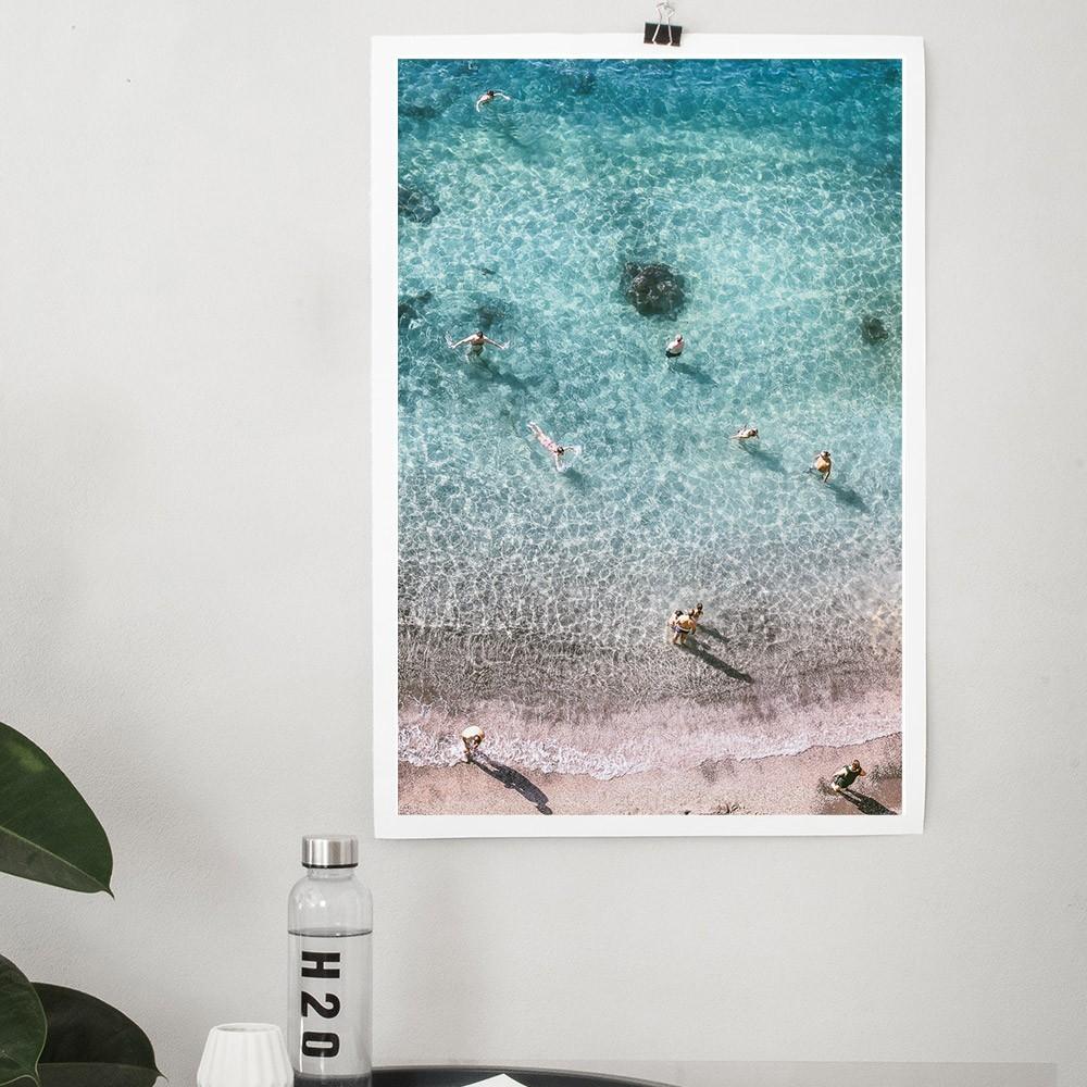 Sorrento Beach poster David & David Studio