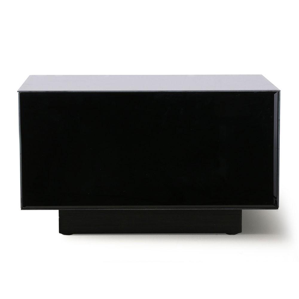 Mirror block table black L HKliving