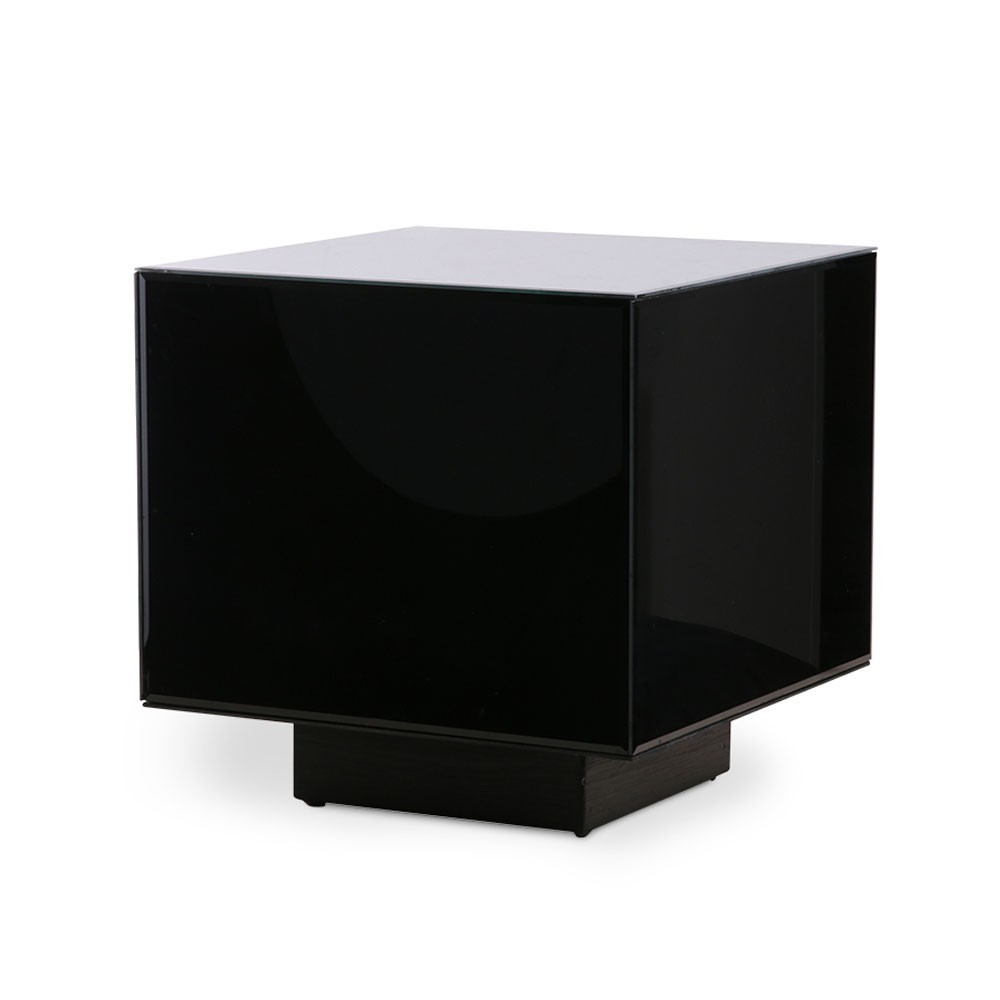 Mirror block table black M HKliving