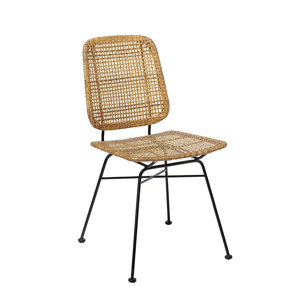 Laurel dining chair natural rattan Bloomingville