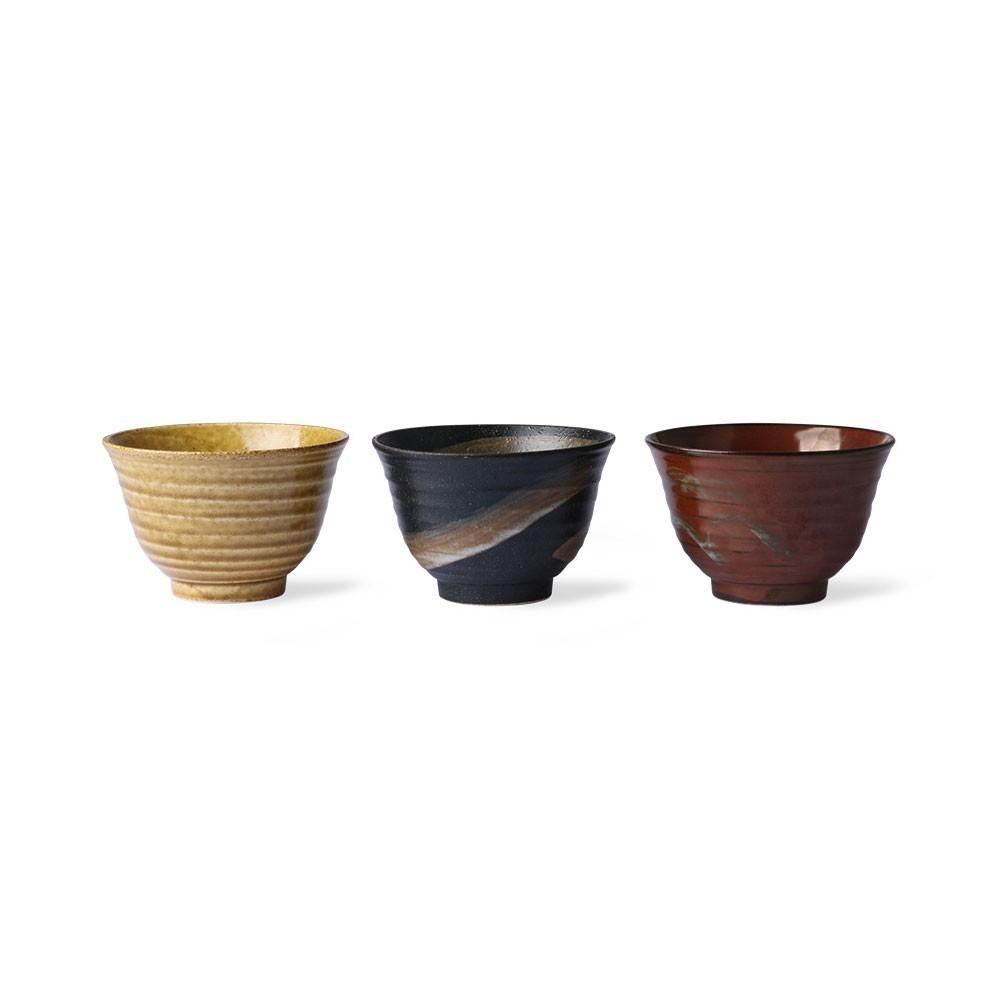 Matcha japanese bowls (set of 3) HKliving