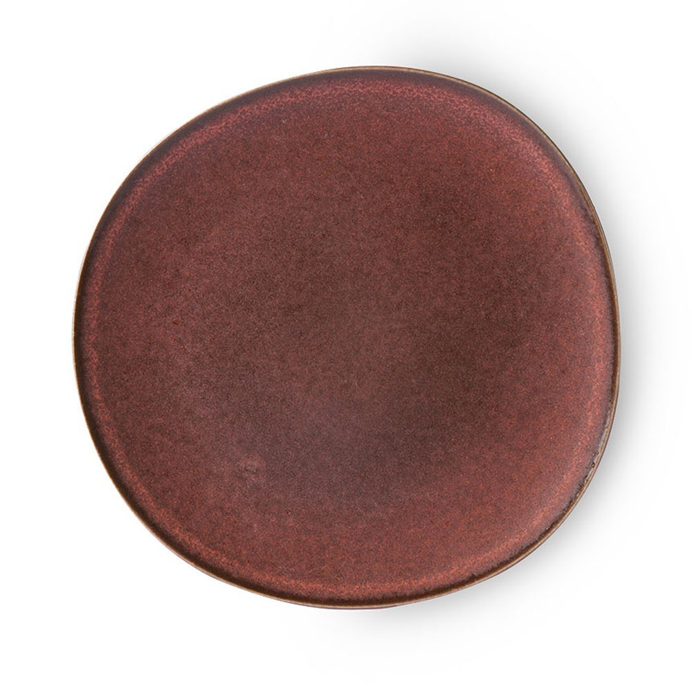 Bold & Basic dinner plate terra Ø28 cm (set of 6) HKliving