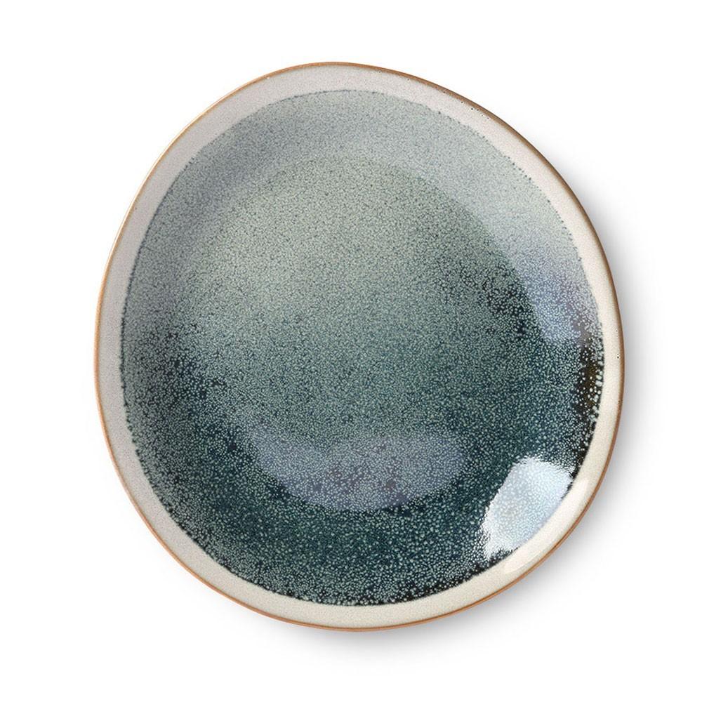 Ceramic 70's side plate mist Ø22 cm (set of 6) HKliving