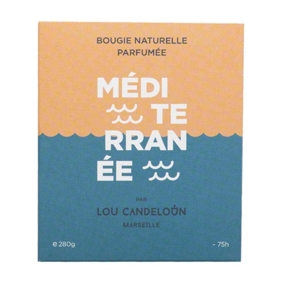 Scented candle 120g Mediterranean Lou Candeloun