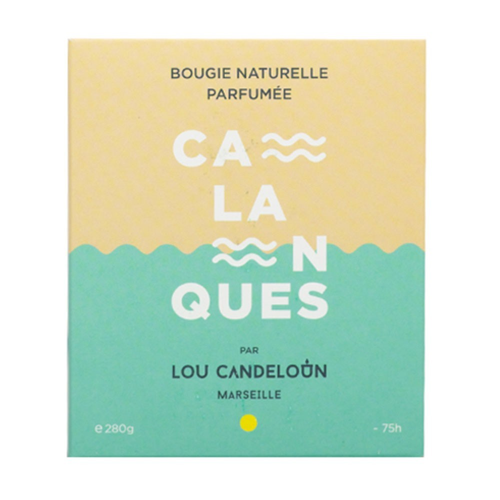 Scented candle 1000g Calanques Lou Candeloun