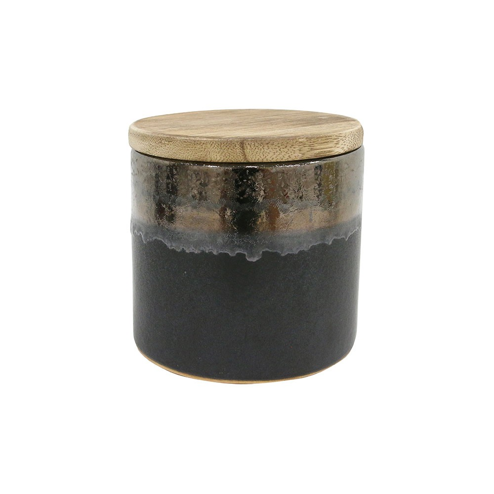 Spicy cinnamon ceramic soy candle HKliving