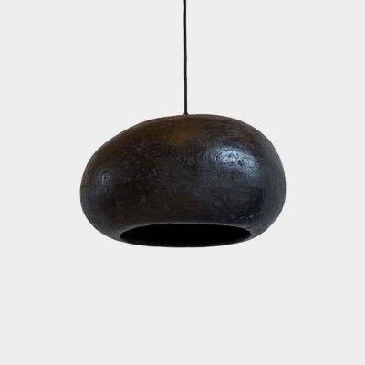 Pebble pendant lamp coal L AY Illuminate