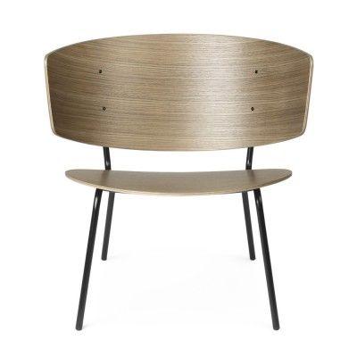 Herman lounge chair dark stained oak Ferm Living Ferm Living