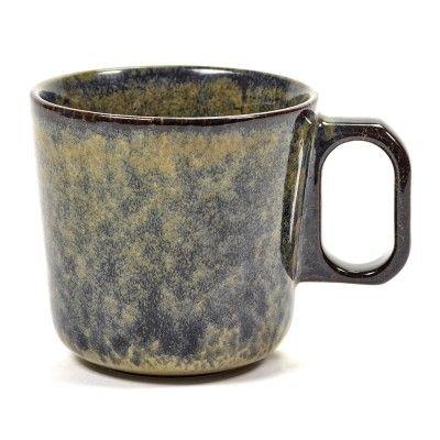 Surface mug with handle indi grey Ø9 cm Serax