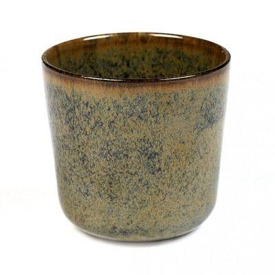 Surface mug without handle indi grey Ø9 cm Serax