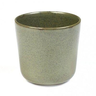 Surface mug without handle camogreen Ø9 cm Serax