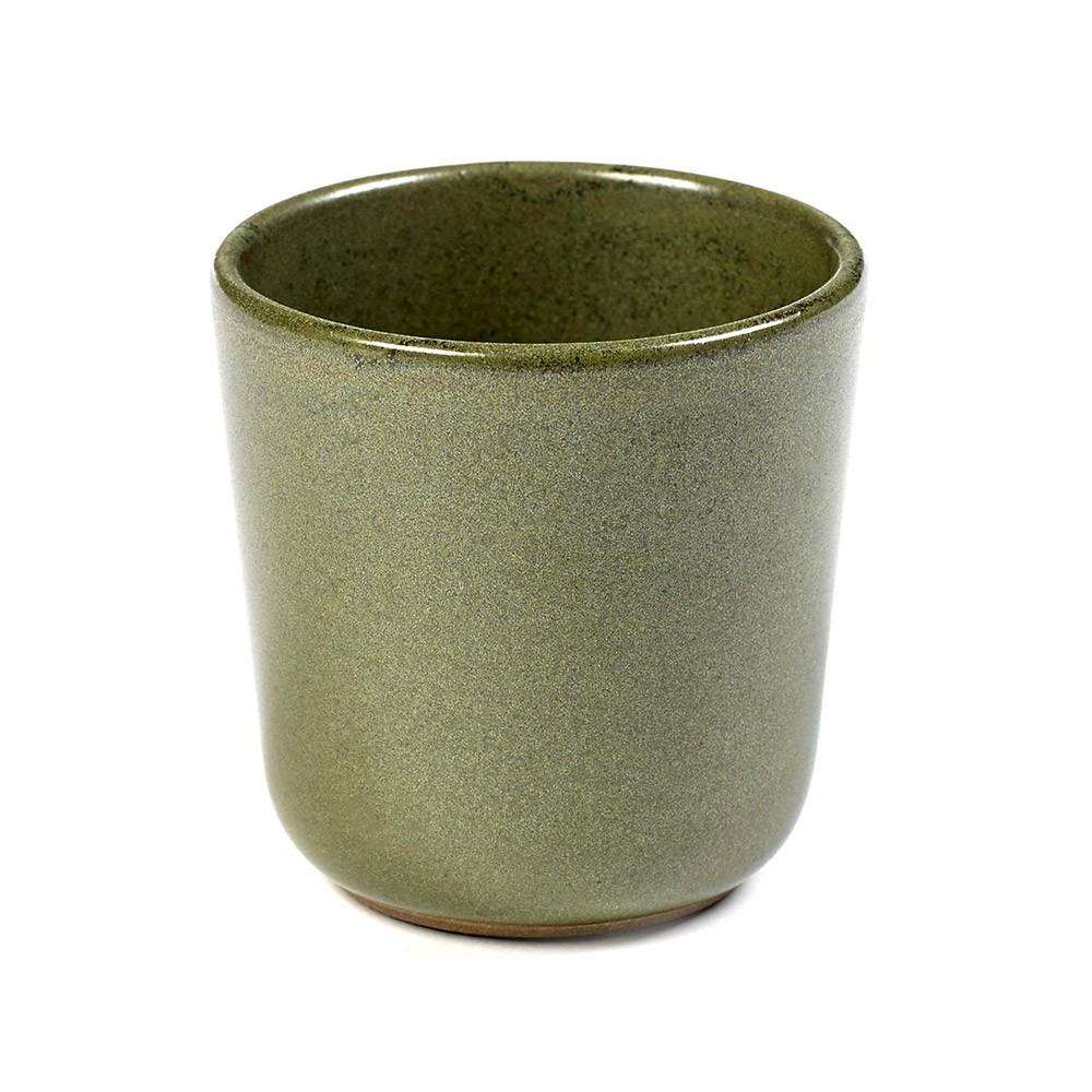 Surface ristretto mug without handle camogreen Ø6 cm Serax