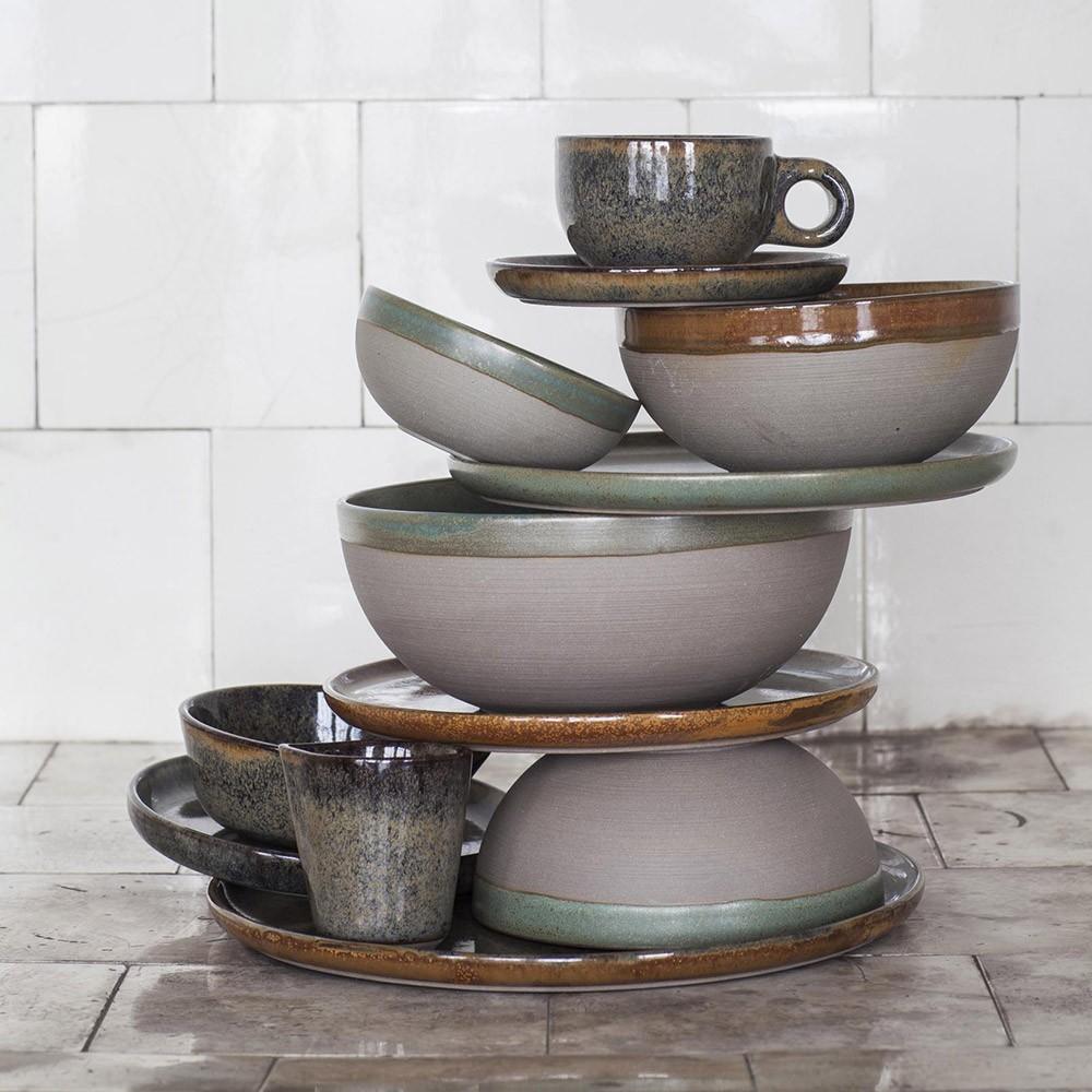 Surface bowl S indi grey Ø15 cm Serax