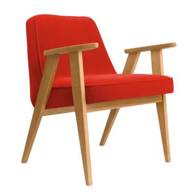 366 chilipeper fluwelen fauteuil 366 Concept