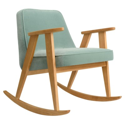 366 rocking chair Velvet mint 366 Concept