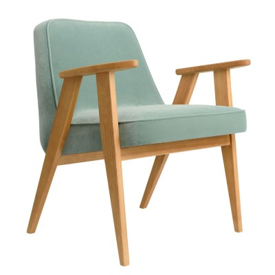 366 Velvet armchair mint 366 Concept