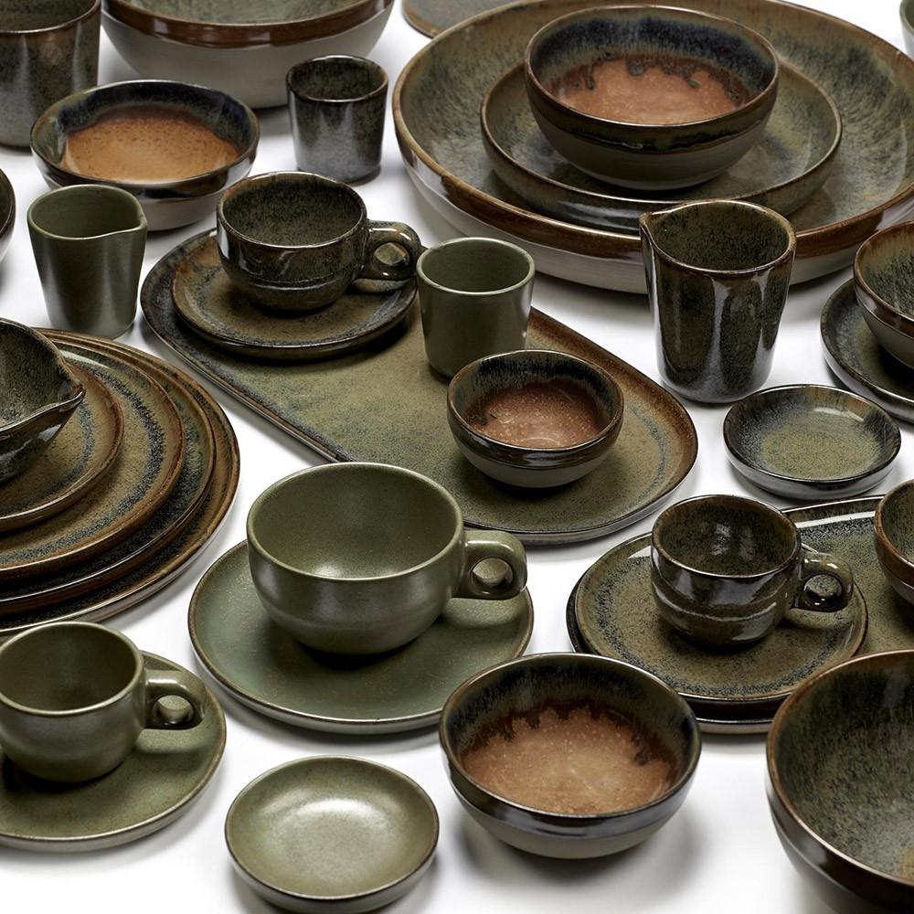 Surface bowl M indi grey Ø19 cm Serax