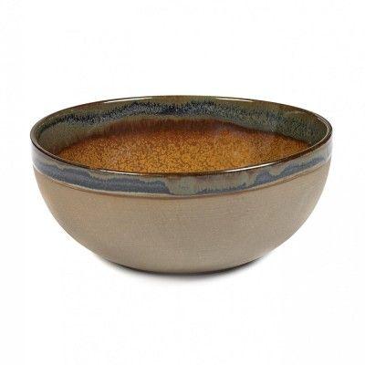 Surface bowl M rusty brown Ø19 cm Serax