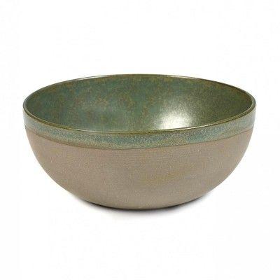 Surface bowl M camogreen Ø19 cm Serax