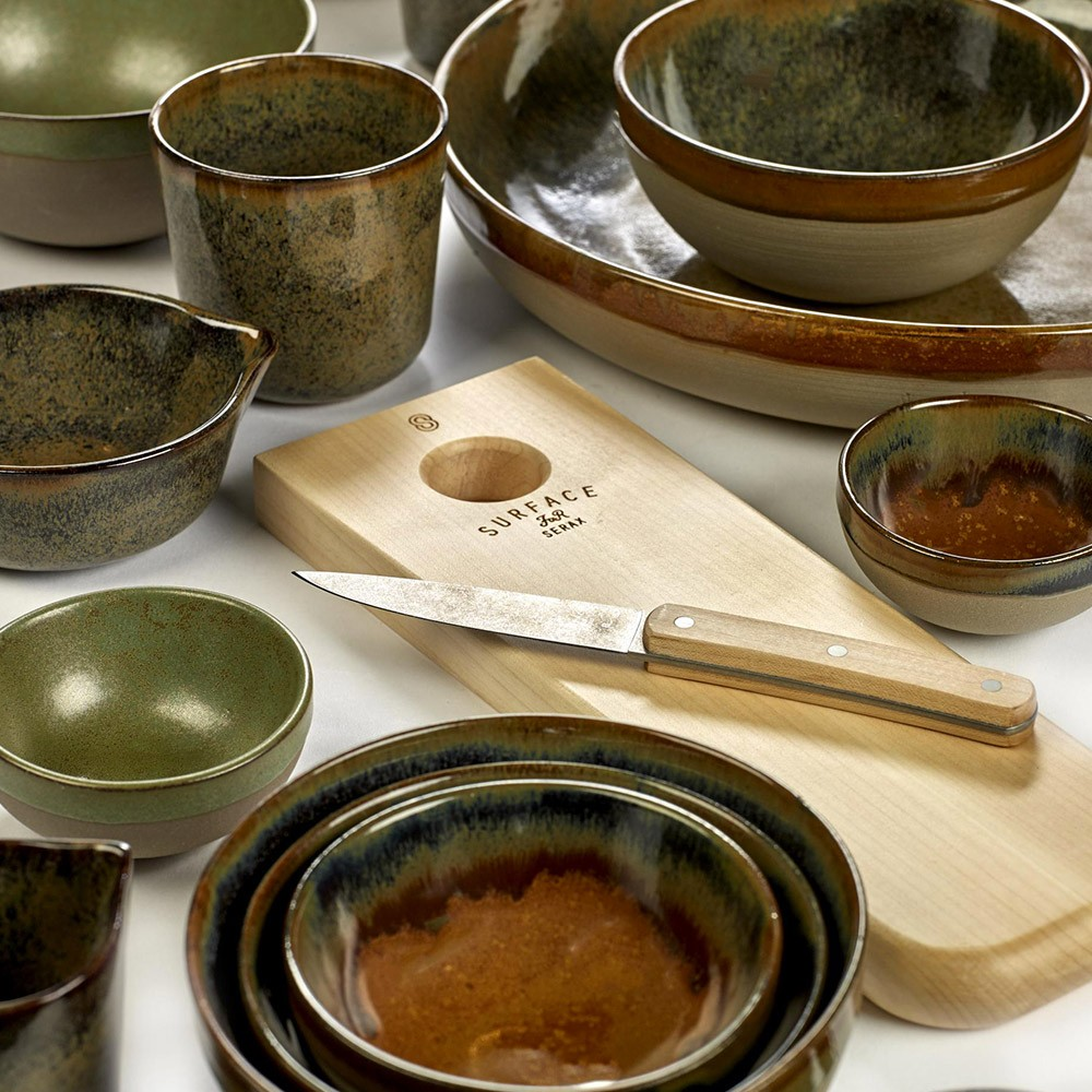 Surface bowl L indi grey Ø23,5 cm Serax