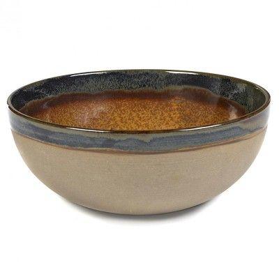 Surface bowl L rusty brown Ø23,5 cm Serax