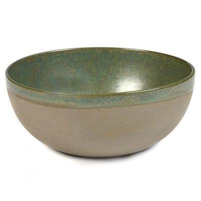 Surface bowl L camogreen Ø23,5 cm Serax