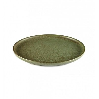 Surface plate S camogreen Ø21 cm Serax