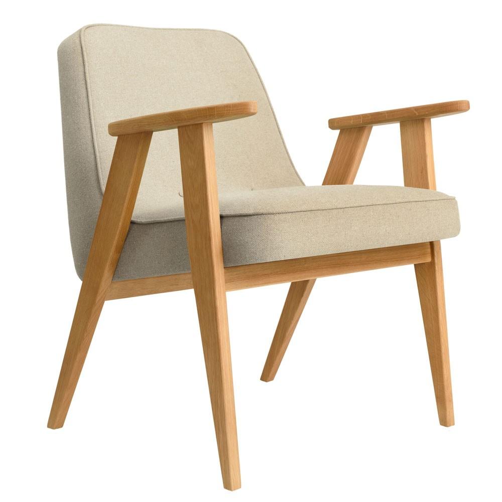 366 Wool armchair sand 366 Concept