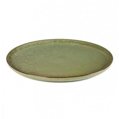Surface plate L camogreen Ø27 cm Serax