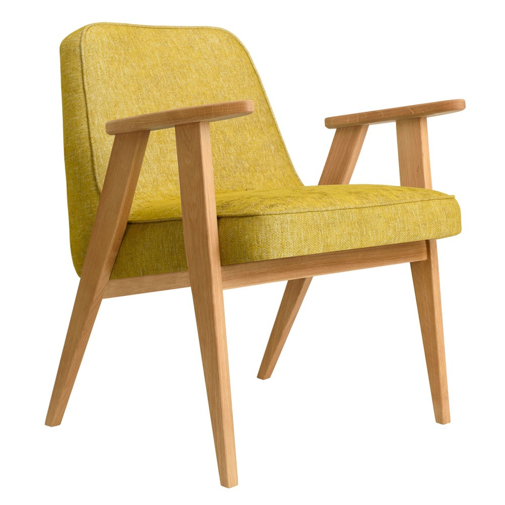 366 Loft armchair mustard 366 Concept
