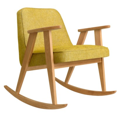 366 rocking chair Loft mustard 366 Concept